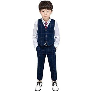 入学式 スーツ 男の子 セットアップ 発表会 フォーマル 結婚式 キッズ 入学スーツ ネクタイ 入園 記念撮影 140cm