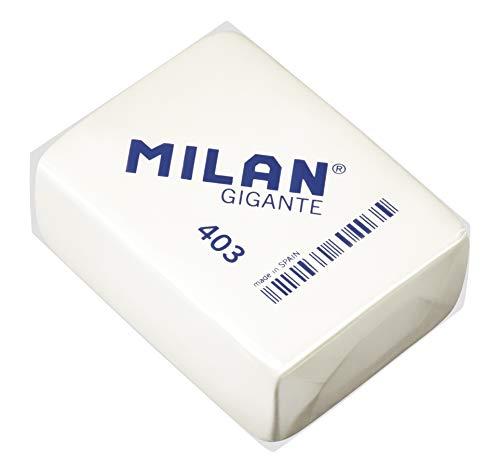 MILAN 403 - Goma de borrar, 3 unidades