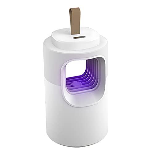 ZHTY lámpara de Mosquito 2 en 1 con lámpara UV y luz Nocturna,Silencioso y Confortable para Embarazadas y bebés,USB Alimentado por pequeño y portátil