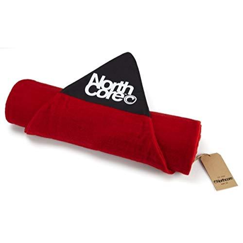 Northcore Surfboard Sock-Shortboard Tasche für Skateboard, Erwachsene, Unisex, Rot (Rot), 6,4\'\'