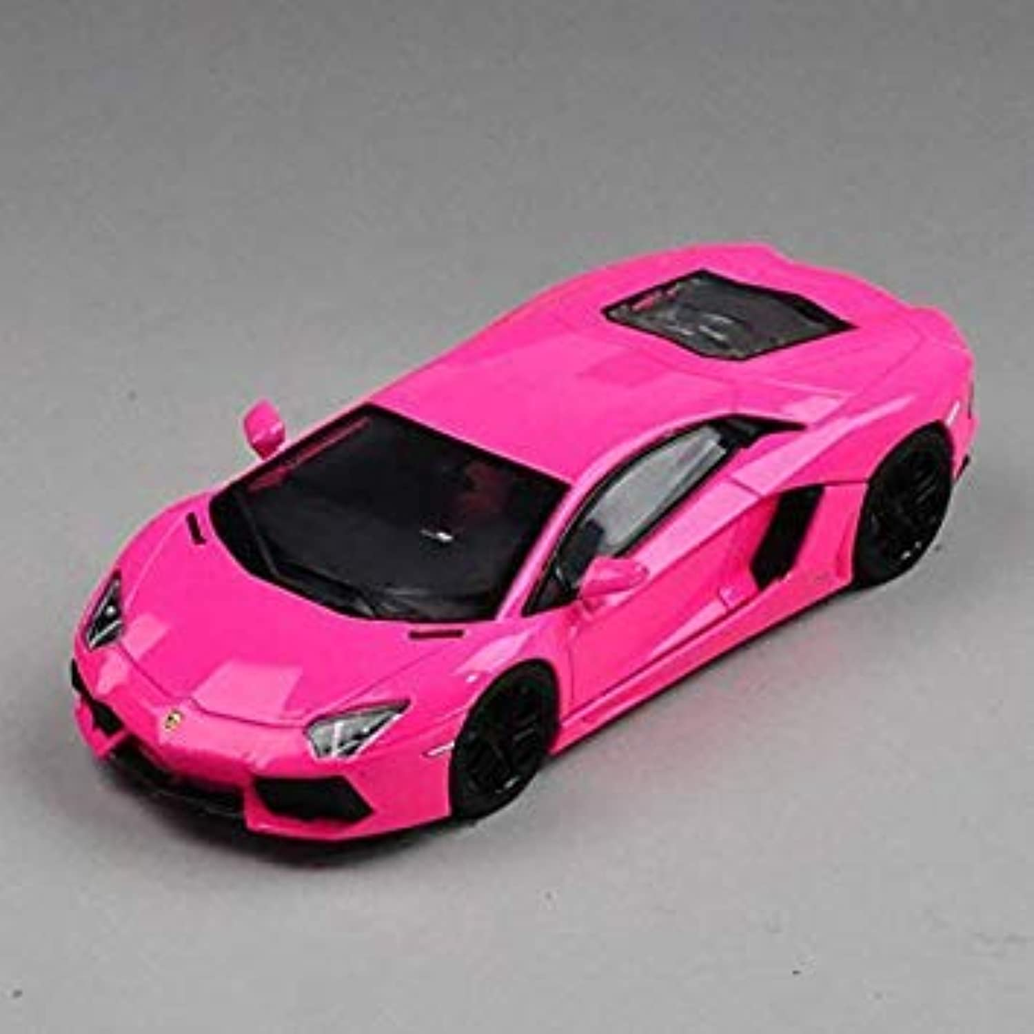LY-YL Sports Car Model 1 18 Scale Model Simulation Alloy Model, Model Jewelry Boy Girl Holiday Birthday Gift Decoration (color  Red)