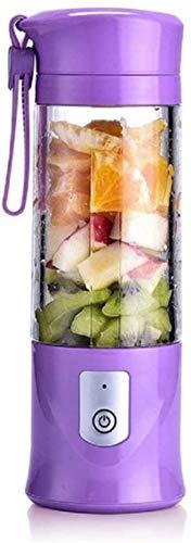 SYLOZ-URG Blender personal for batidos y batidos, 420ml USB recargable pequeño mezclador del jugo del FDA y libre de BPA SYLOZ-URG