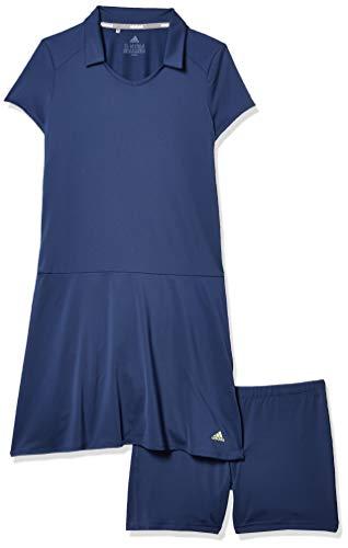 adidas Golf Ruffled Dress, Tech Indigo, Medium