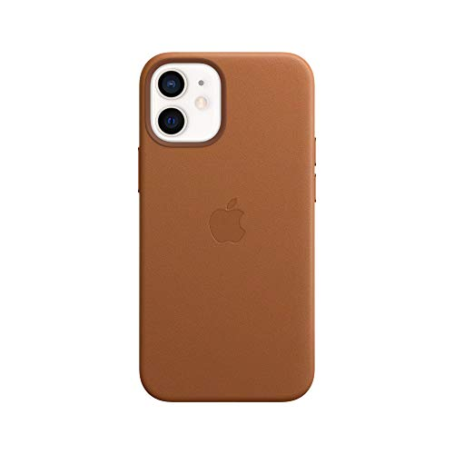 Apple Leather Case with MagSafe (for iPhone 12 Mini) - Saddle Brown