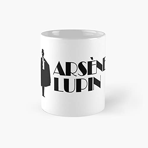 Lup.i.n Gentleman Thief Film 2021 Classic Mug - 11 Ounce For Coffee, Tea, Chocolate Or Latte.