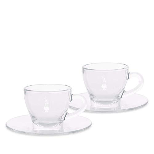 Bialetti DCRAST0007 Cappuccinotassen, Glas