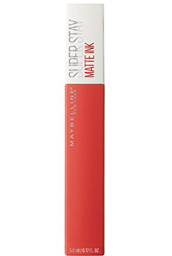 Maybelline New York - Superstay Matte Ink, Pintalabios Mate de Larga Duración, Tono 25 Heroine