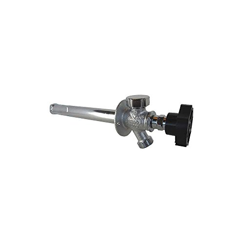 """¼-Turn Ball Valve Frost Proof Sillcock; 10"""" Wall Thickness; ½"""" m.p.t. x ½"""" Copper Inlet Connection; - Quarter Ball QB-110MC"""