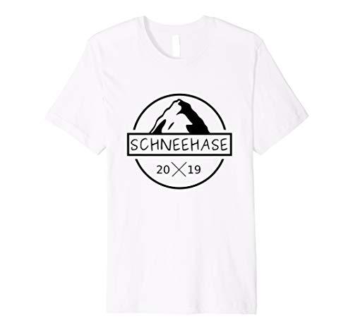 Schneehase Shirt Wintersport & Apres Ski party tshirt