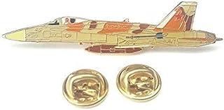 F-18 U.S NAVY Hornet Aereo Vista Laterale Distintivo Spilla Smaltata