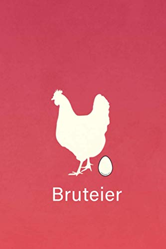 Bruteier: Geschenk hühner züchten geschenk Notizbuch für Hühnerbesitzer