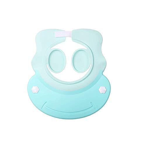 1961/5000 Baby Shower Cap Verstellbare Shampoo-Kappe für den Gehörschutz von Kindern für Kleinkinder Kinder (blau)