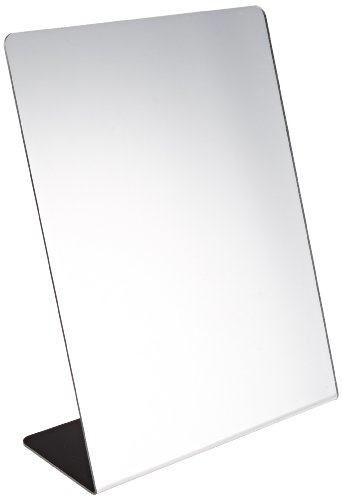 Sax Free-Standing and Single-Sided Self-Portrait Mirror - 8 1/2 x 11 -