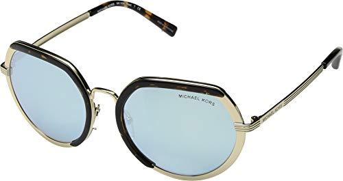 Michael Kors 33336J Gafas de Sol, Lite Gold, 53 para Mujer