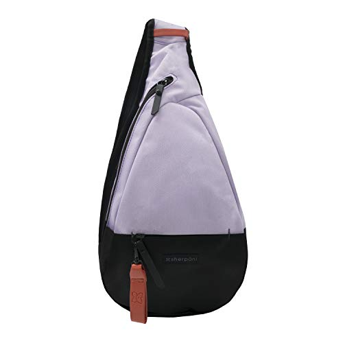 Sherpani Esprit, Essential Nylon Sling Bag, Shoulder Sling Bag, Crossbody Shoulder Chest for Women, with RFID Protection (Orchid)