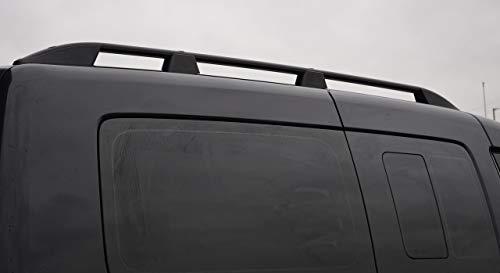 ALVM Parts & Accessories Aluminium-Dachträger für L2 Caddy Maxi (2004-15), Schwarz