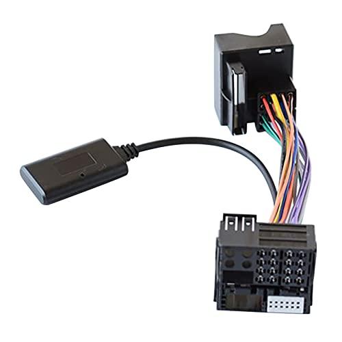 RJJX Audio Audio Bluetooth 5.0 AUX AUX AUX Adapter para Benz W169 W245 W203 W209 W164 Módulo de Radio Bluetooth Cable Aux