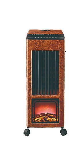 DXIII DELUXE13 Climatizador Calefactor Ventilador Humidificador Digital Pingüino Portátil Multifunción Frío 80W | Calor 1000W - 2000W | Mando a Distancia | Difusor de Aromas |
