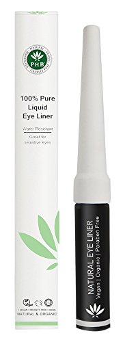 Phb Ethical Beauty Eye Make-up 100% Pure Liquid Eye Liner Black 4.5gr