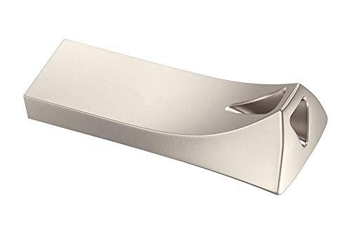Memoria USB de metal Pendrive USB Key impermeable Memory Stick con llavero Pen Drive para ordenador portátil, PC, ordenador, radio (2 TB, estil-A)