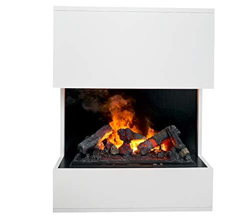 Elektrokamin GLOW FIRE Opti-myst Kästner, Wasserdampf Feuer, elektrischer Standkamin mit Fernbedienung, regelbare Flammenstärke (Kästner)