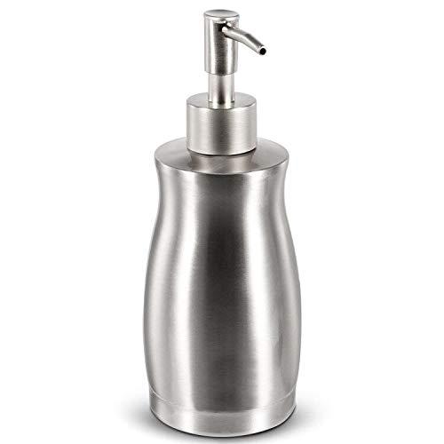 BabyElf Soap Dispenser - 400mL Liquid Soap Dispenser with Stainless Steel...