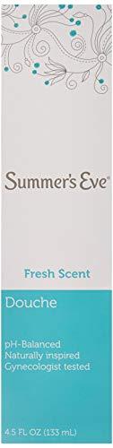 (Pack of 6 Bottles) Summers Eve Fresh Scent Douche Vinegar & Water, Feminine Wash, 4.5oz Bottles. PH Balanced, Naturally Inspired, Gynecologist Tested (Pack of 6 Bottles, 4.5oz Each Bottle)