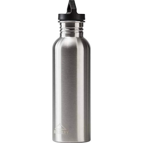 McKINLEY Unisex– Erwachsene Trinkflasche-276040 Trinkflasche, Silber, 0,75