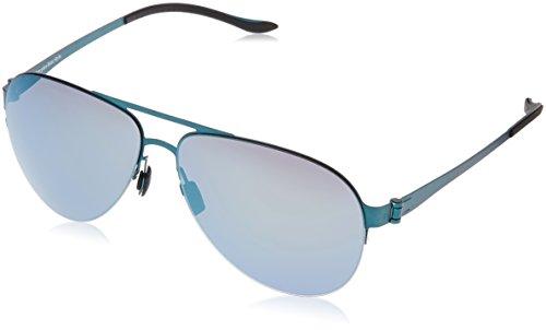 Mercedes-Benz Sonnenbrille M1034 Gafas de sol, Azul (Blau), 62.0 para Hombre