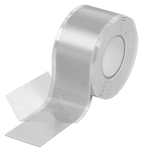2.5x300cm Reparación de la cinta de aislamiento de la reparación, silicona Impermeable Empresa autofundido Cintas Amalgamación Cintas de goma for la tubería de emergencia FLUMING Y AGUA FUGAS DE MANGU