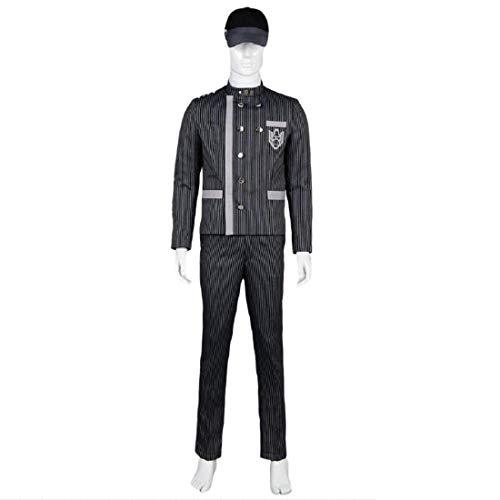 YYFZ Anime Cosplay Make-up-Party Uniform gestreifte Jacke Hose Hemd Version Custom Cycle 15 Tage,Men's Size-S