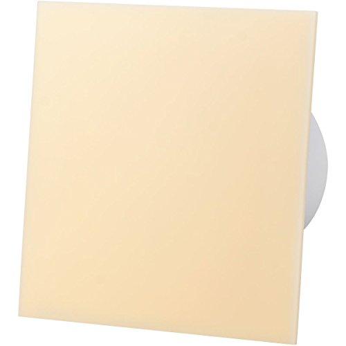 Beige Acrylglasfrontplatte 100mm Timer Ventilator Für Wanddeckenventilation