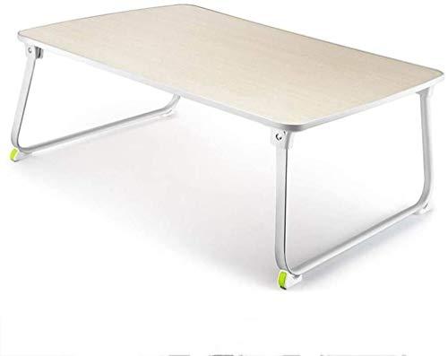 Schreibtisch Laptop Bett Klapp Schlafsaal Schreibtisch Klapp Couchtisch Home Bett Tisch (Farbe: Braun, Größe: 70 * 50 * 32,5 Cm), Größe: 70 * 50 * 32,5 Cm ( Color : Brown , Size : 70*50*32.5cm )