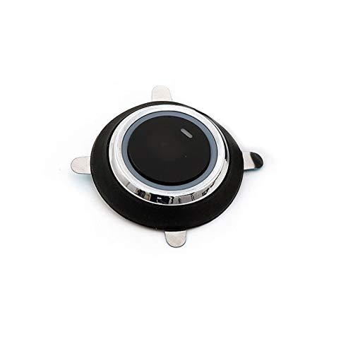 Yxwei 12V Auto Coche Motor Inicio Stop Stop Push BOTÓN Keyless Entrada Encendido Interruptor de Inicio Durable Conveniente Función de 3 líneas Black