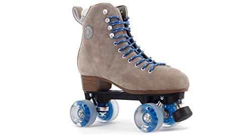 BTFL Trends- Rollschuhe Tony Pro für Damen,Mädchen,Discoroller,Rollerskates,Braun,EU: 44