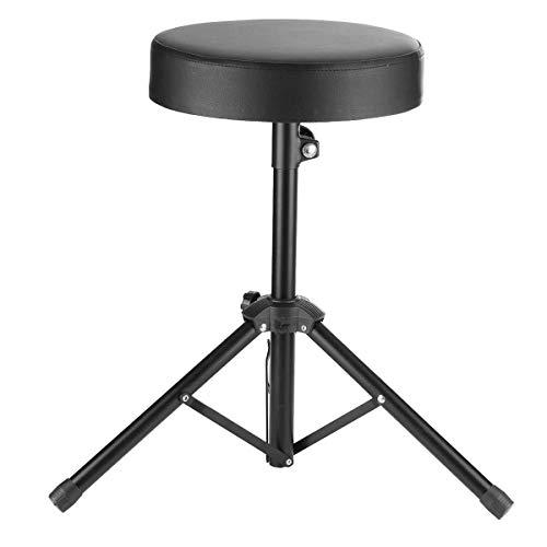 Schlagzeug Percussion Hardware Sitz Cajon Drumhocker Pad Drummers Hocker Ständer Stuhl SET