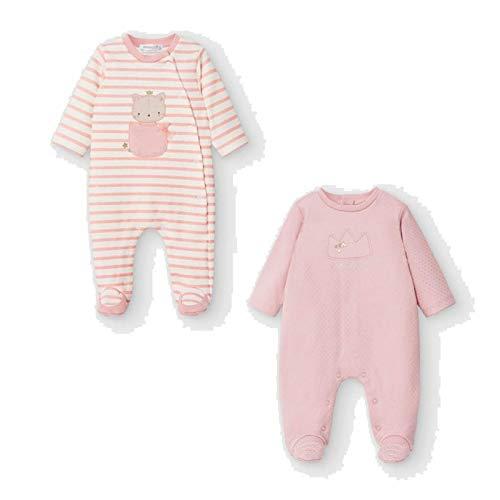 Mayoral Set 2 Pijamas Bebe niña Modelo 2757