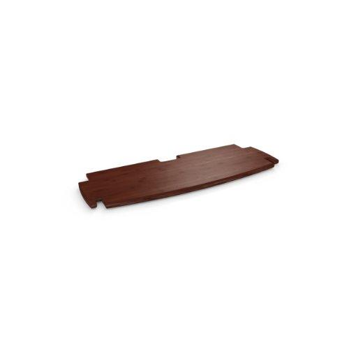 Legare 24-Inch Shelf, Espresso Bamboo
