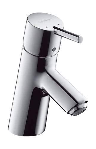 Hansgrohe 32032000 Talis S Grifo de lavabo para calentadores de agua abiertos, con vaciador automatico, Cromo