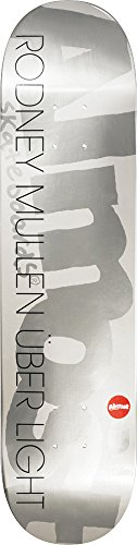 Almost Uber Silver Ops Skateboard Deck - 8 Inch