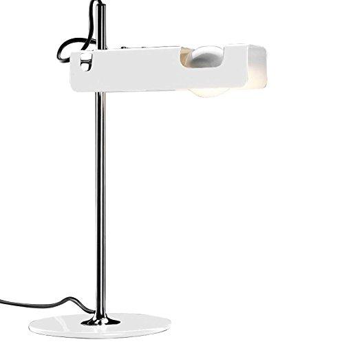 Spider 291–Lámpara de mesa, blanco, estándar, B22