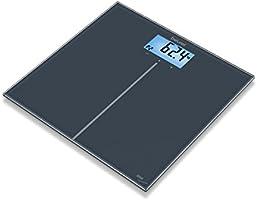 ميزان زجاج رقمي ذكي بمؤشر لقياس كتلة الجسم من بيورير GS280