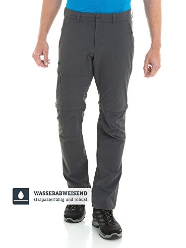 Schöffel Herren Pants Koper1 Zip Off flexible und bequeme Herren Hose, grau, 54