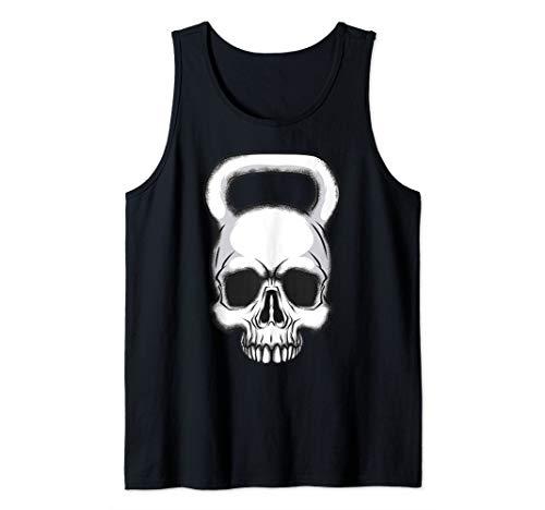 Kettlebell Skull Gewichtheben - Bodybuilder Tank Top