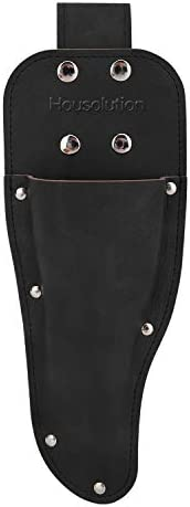 Housolution Garden Pruner Sheath Premium Genuine Leather Holster Protective Case Cover Scabbard product image