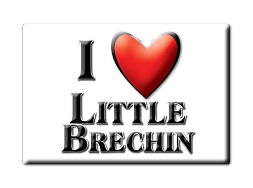 Enjoymagnets Little BRECHIN (SCO) Souvenir IMANES DE Nevera Inglaterra Scotland IMAN Fridge Magnet Corazon I Love