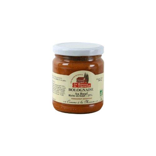 La Réserve de Champlat - La Réserve de Champlat Sauce Bolognaise au Boeuf