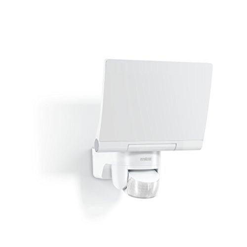 STEiNEL 30070 Steinel LED-FLoodlight XLED Home 2 XL White, 2120 lm, 180° Motion Detector, 20 W, Fully Swivelling LED Panel, Warm White Light Colour , 21.4 x 18 x 16.1 cm
