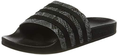adidas Damen Adilette W Dusch-& Badeschuhe, Grey Five Core Black Core Black, 37 EU