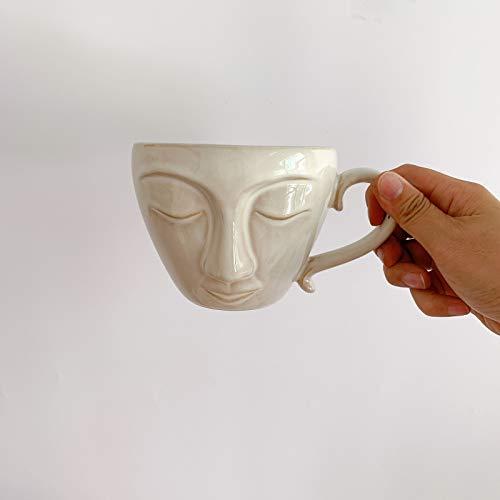 DZHTWSRYGR Tazas Taza de cerámica Taza de café Taza de Bebida Retro Regalo Decoración del hogar